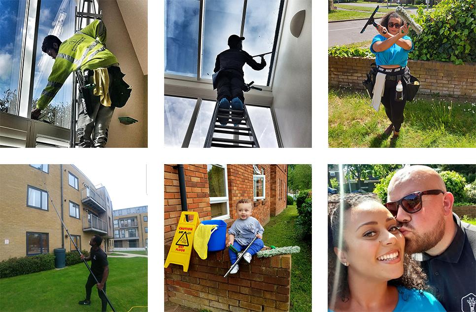Giraffe Cleaning Stevenage, Letchworth, North London Team